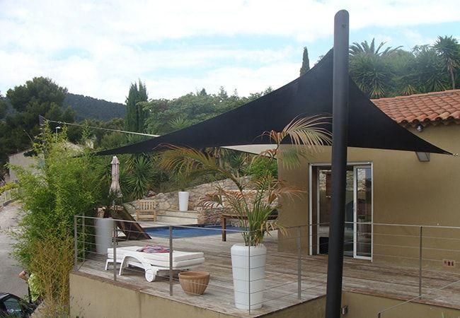 toile parasol pour balcon à Cagnes-sur-Mer