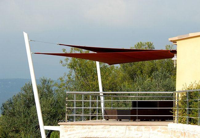 bache solaire balcon à Roquebrune-Cap-Martin