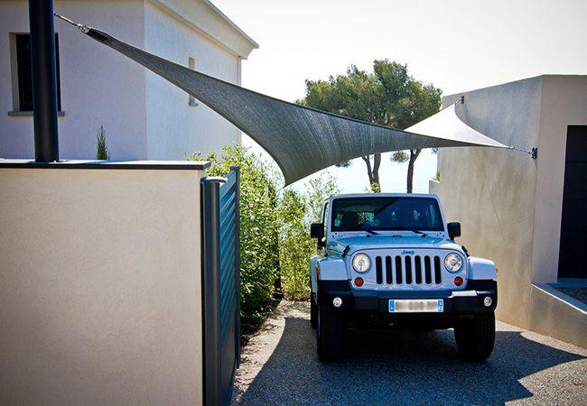 voile parasol garage Cassis Menton Nice