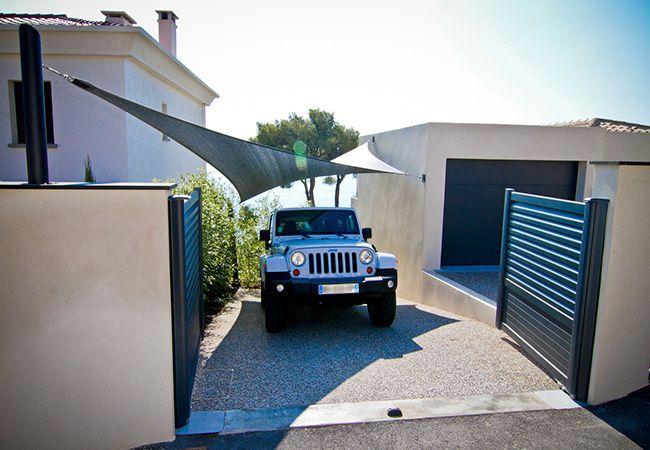 voile parasol garage Bandol Roquebrune-Cap-Martin