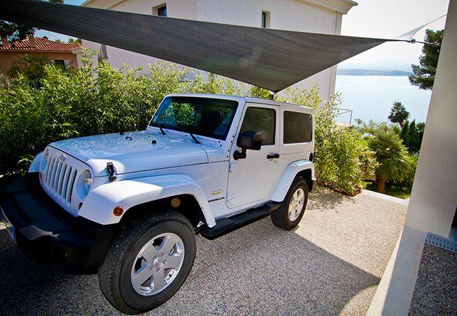 voile ombrage pour voiture à Beaulieu-sur-Mer