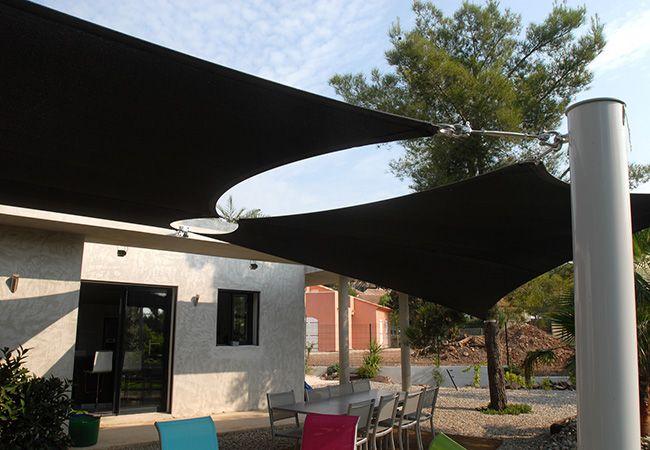 voiles solaire  pour jardins à Nice