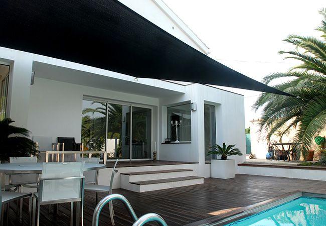 installation toile parasol à Cannes