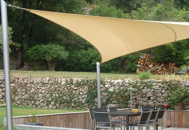 awning shade garden in Nice
