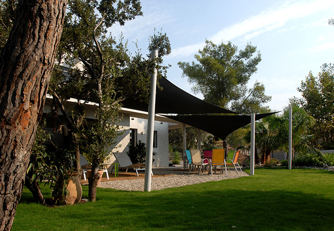 Garden Shade sail metal pole in Nice
