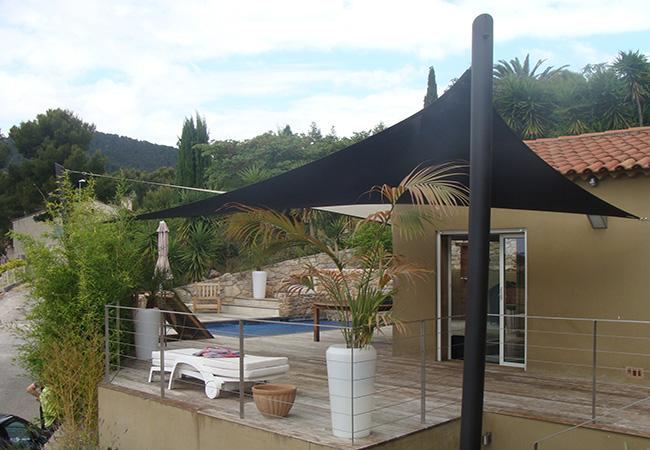 Balcony garden canopy Cagnes-sur-Mer