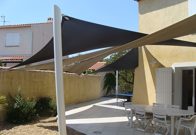 Shade cloth installaer in Cagnes-sur-Mer