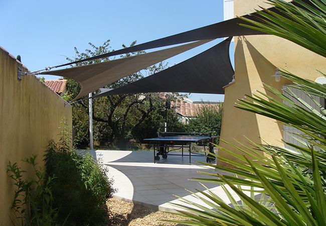 Sun shade cloth in La Seyne-sur-Mer, Toulon
