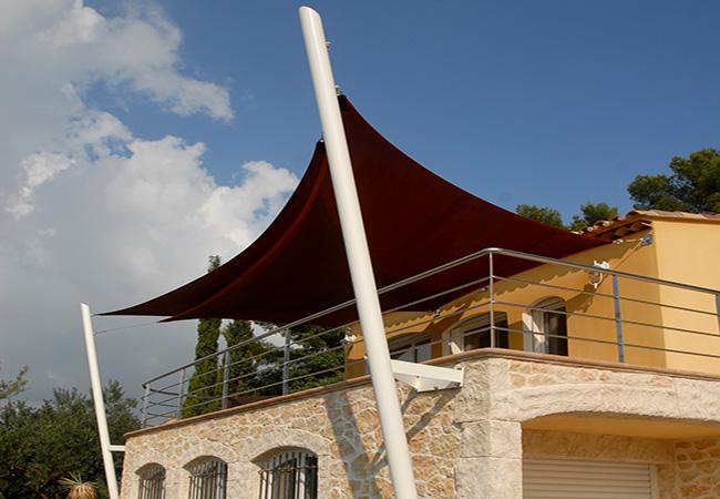 custom shade sails design in Saint Cyr Sur Mer